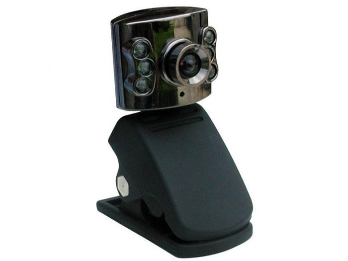 Night Vision USB WebCam Web Cam HiQ Glass Lens
