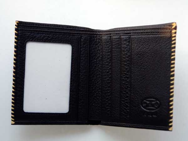 Black Innovative Wallet Clutch with Demagnetization-proof Design