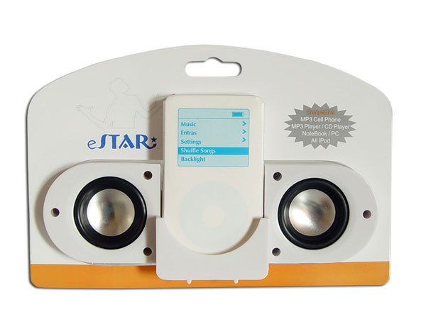 Portable Fold-up Speaker for iPod/MP3/CD/DVD w/Amplifier