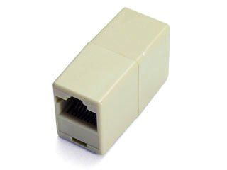 Lot of 10 RJ45 Network 8P8C Gender Changer LAN Extension Adapter