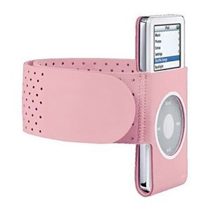 Lots 2 Pink GYM Sport Armband Wrist Strap for iPod Nano, 2nd