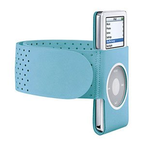 Blue GYM Sport Armband Wrist Strap for iPod Nano, 2nd