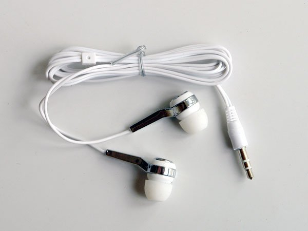 New White In-ear Earphone Headphone For MP3 MP4 iPod NANO CD