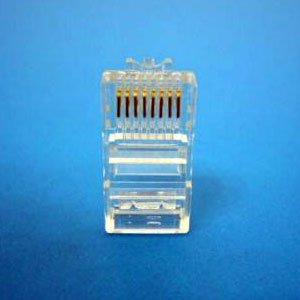 1000 PCS 8P8C RJ45 RJ-45 CAT5 CONNECTORS MODULAR PLUG