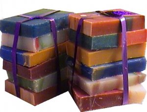 Peach Fuzz Handmade Soap