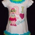 Bunny Diva-I Love Shopping Chiffon Ruffled Dress