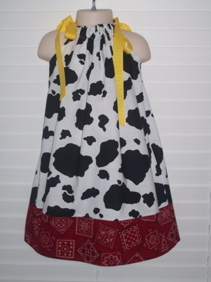 ON HOLD FOR shannon arvay Cowgirl Jessie Toy Story Pillowcase Dress
