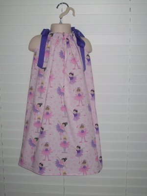 Lil Miss Ballerina Pillowcase Dress