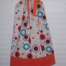 Bright Polka Dot Pillowcase Dress