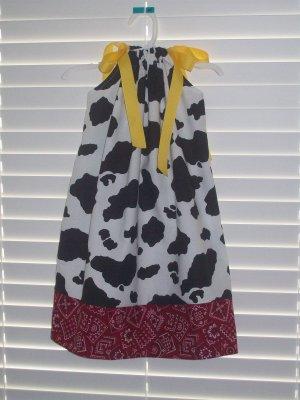 Cowgirl Jessie Toy Story Pillowcase Dress