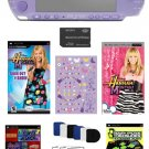 Sony PSP-3000 Limited Edition Hannah Montana Entertianment Bundle w/ Pro Tec Kit + Over 41 Games