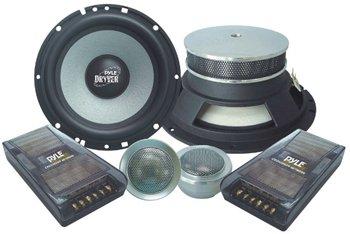 Pyle PLD6C Dryver Series 6.5'' 400 Watt 2-Way Custom Component System