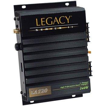 Legacy LA120 240 Watts 2 Channel Amplifier