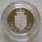 Great Britain, Silver 1 Pound, 1988, Proof