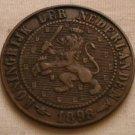 Netherlands, 2-1/2 Cent, 1898, Better Date