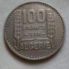 Algeria, 100 Francs, 1950, KM-93