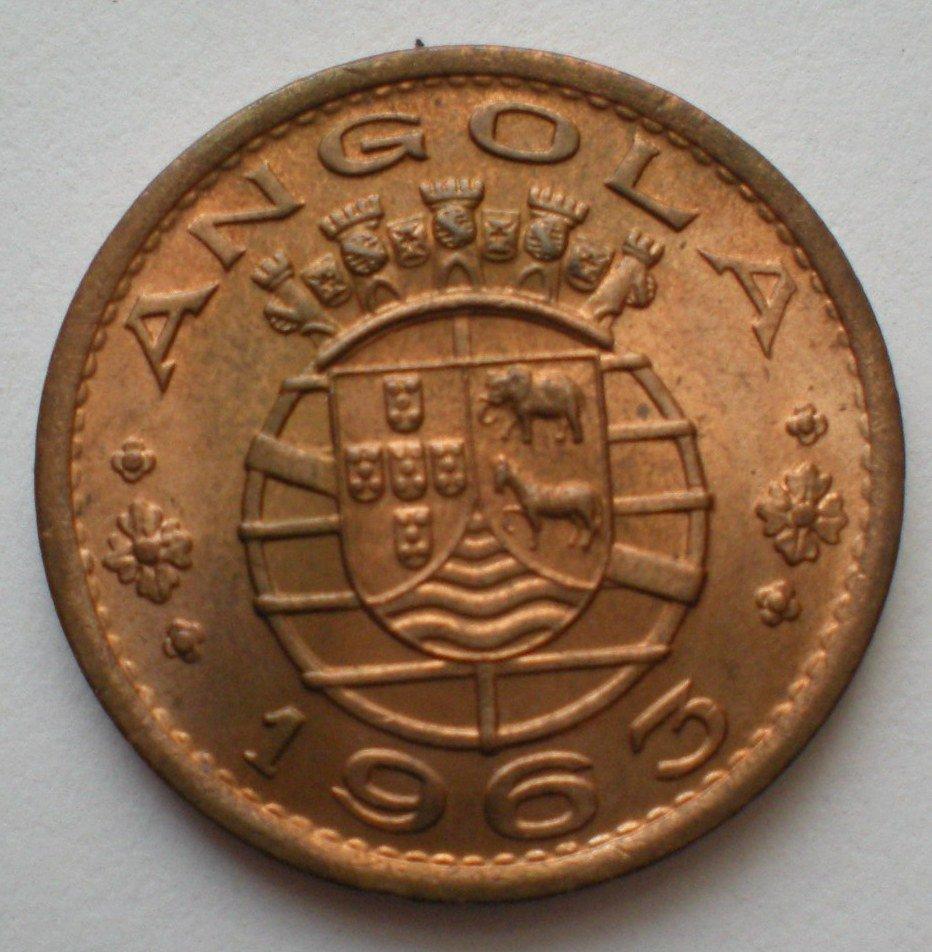 Angola, 1 Escudo, 1963, KM-76