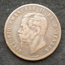 Italy, 10 Centesimi, 1867 H