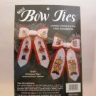 Cross Stitch ornaments kit from JCA, Inc. (Made in USA) - Mini Bow Ties - Christmas Toys
