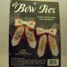 Cross Stitch ornaments kit from JCA, Inc. (Made in USA) - Mini Bow Ties - Starbursts