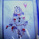 Candamar Counted Cross Stitch Kit - Mime with Balloon 50327