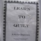 Learn to Quilt kit from Fancy Dry Goods & Clothing Store