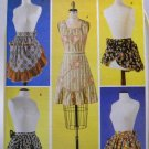 Pattern 6567 from Butterick (2001) -  Vintage Aprons size S,M,L,XL (8-10, 12-14, 16-18, 20-22)