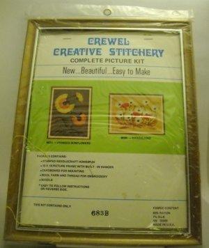 Crewel kit from Crewel Creative Stitchery - 683B Dandelions