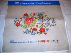 Spinnerin Needlepoint kit - Oriental Bird NP 94