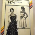 Pattern 1574 from Stretch & Sew(1984) - camisole sundress
