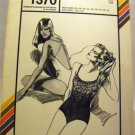 Pattern 1370 from Stretch & Sew (1981) -drawstring swimsuit