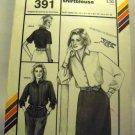 Pattern 391 from Stretch & Sew(1984) - Italian shirtblouse
