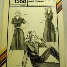 Stretch & Sew Pattern 1568 - (1982) - oxford dress and blouse