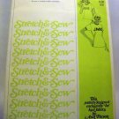 Pattern 803 from Stretch & Sew(1976) - alphabet appliques letter and number shapes only