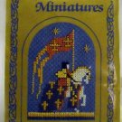 Counted Cross Stitch Kit from from The Textile Heritage Collection - Medieval Miniatures