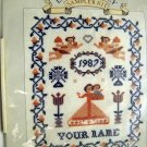 Counted Cross Stitch kit from Laura Ashley  -  Celebration Sampler Kit