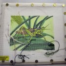 Slightly Worked Hand Painted Canvas Needlepoint kit from Needlepoint, Inc.