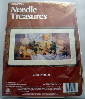 Crewel Embroidery Kit  from Johnson Creative Arts, Inc.  (Made in USA ) - Class Reunion