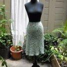 Ann Taylor Silk Skirt Paisley Print - Size 2