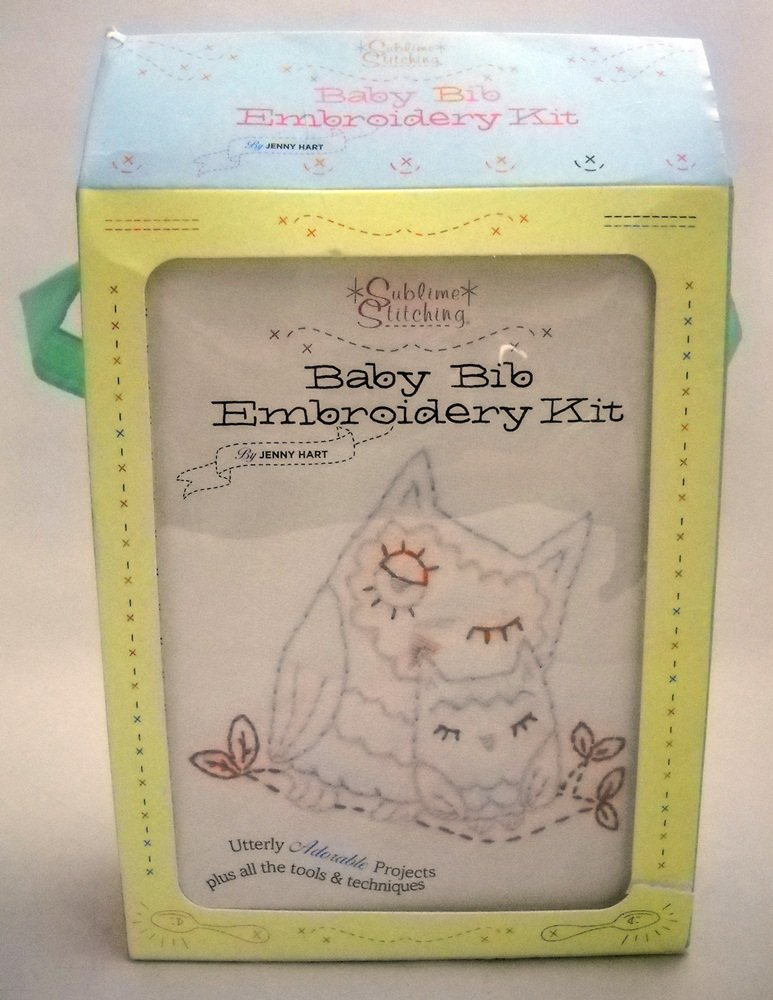 Embroidery kit from Sublime Stitching (2009)  - Baby Bibs