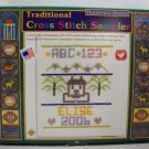 Counted Cross Stitch kit from Harrisville Designs  -  Sampler Kit