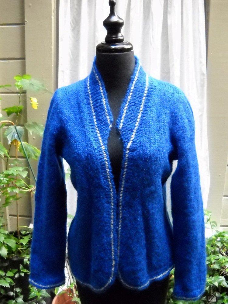 Antonella Ore Cardigan Sweater (Made in Italy) - Size 42