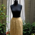 Pendleton Classic Lined Wool Straight Skirt With Back Kick Pleat - Size 14