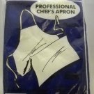 Professional Chef's White Apron from Excello Ltd