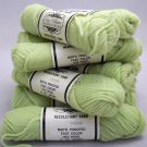 Elsa Williams Needlepoint Yarn 40 yd (36.6 meters) per skein - 11 skeins celery green N465