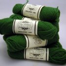 Elsa Williams Needlepoint Yarn 40 yd (36.6 meters) per skein - 11 skeins green N442