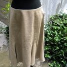 Lauren by Ralph Lauren Lined Gored Flared Wool Skirt - Size 10