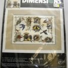 A Bird For All Seasons 3810 Dimensions(1996 Made in USA )Counted Cross Stitch Kit