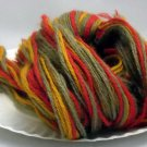 Bundle of 36 inch length 3 ply yarn strands - Assorted