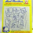 Aunt Martha's Hot Iron Transfers from Colonial Patterns, Inc. -  3733 Kitten Motifs